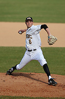 March 14, 2010:  Marty Zawacki of UMBC in a game vs. Bucknell at Chain of Lakes Stadium in Winter Haven, FL.  Photo By Mike Janes/Four Seam Images