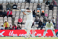 Kyle Jamieson, New Zealand pulls a short delivery from Mohammad Shami, India and is caught at deep square during India vs New Zealand, ICC World Test Championship Final Cricket at The Hampshire Bowl on 22nd June 2021