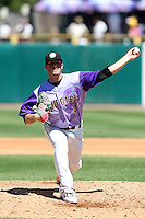 Kane County Cougars pitcher Ian Krol during a game vs. the Peoria Chiefs at Elfstrom Stadium in Geneva, Illinois August 15, 2010.   Peoria defeated Kane County 8-4.  Photo By Mike Janes/Four Seam Images