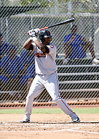 Francisco Peguero / San Francisco Giants 2008 Instructional League..Photo by:  Bill Mitchell/Four Seam Images