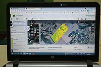 CROATIA, Osijek, agricultural company Fermopromet, maize and soybean farming,  / KROATIEN, Osijek, Mais- u. Sojaanbau bei Fermopromet, JD field analyzer Software