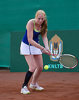 12-08-13, Netherlands, Raalte,  TV Ramele, Tennis, NRTK 2013, National RankingTennis Championships 2013,  Maurien Rikkert<br /> <br /> Photo: Henk Koster12-08-13, Netherlands, Raalte,  TV Ramele, Tennis, NRTK 2013, National Ranking Tennis Champ,  <br /> <br /> Photo: Henk Koster