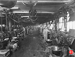 The interior of Chase Brass & Copper Co. on Thomaston Avenue in the Waterville section of Waterbury around 1920.