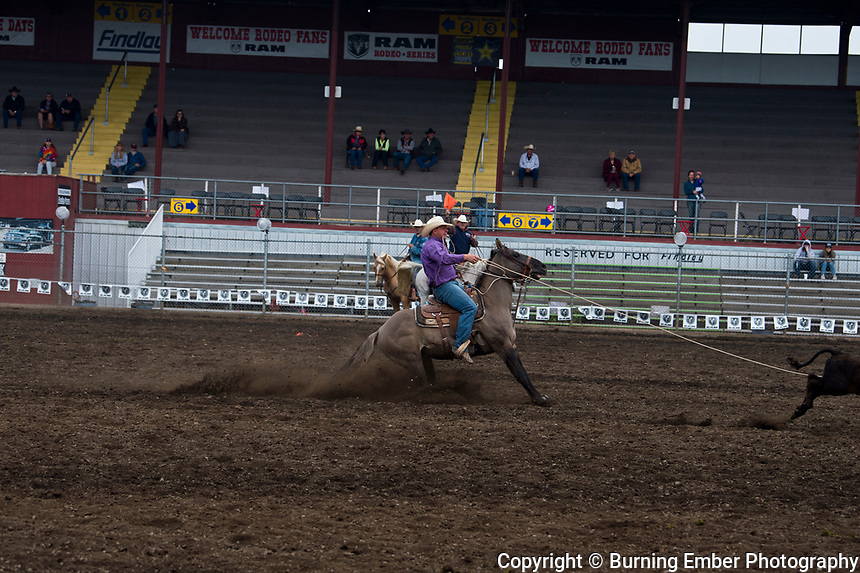 Cody Sheridan in the Tie Down event at the Gem State Stampede August 26th, 2018 slack in Couer D'Alene ID.  Photo by Josh Homer/Burning Ember Photography.  Photo credit must be given on all uses.
