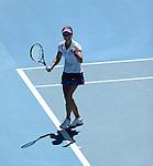 Na Li (CHN) wins at Australian Open in Melbourne Australia on 24th January 2013