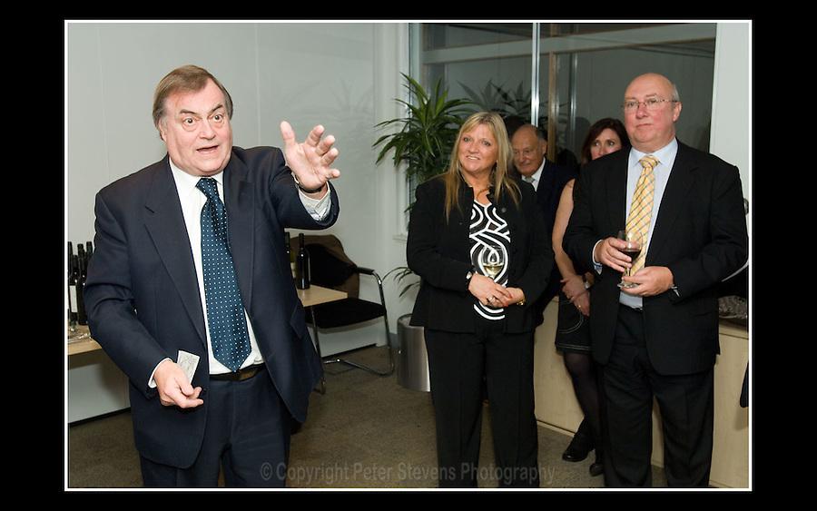 John Prescott MP - Centrepoint, London - 25th October 2007