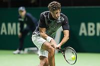 ABN AMRO World Tennis Tournament, Rotterdam, The Netherlands, 13 februari, 2017, Robin Haase (NED)<br /> Photo: Henk Koster