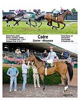 Cadre winning at Delaware Park on 9/19/11