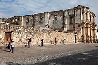 Antigua, Guatemala.  Ruins of El Carmen Church and Convent.