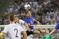 Markus Halsti (Finnland) gegen Max Meyer (Deutschland, Germany) - Deutschland vs. Finnland, Borussia Park, Mönchengladbach