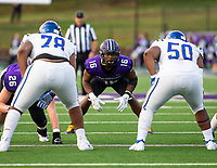 Emanuell Powell (16) of Fayetteville committed to play for the Razorbacks at Harmon Field , AR, on Friday,September 10, 2021 / Special to NWADG David Beach