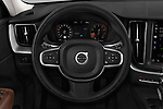 Car pictures of steering wheel view of a 2018 Volvo XC60 Momentum 5 Door SUV