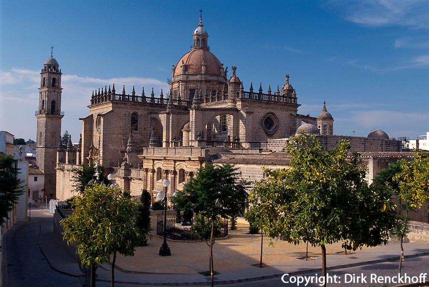 Spanien, Andalusien, Kathedrale in Jerez de la Frontera