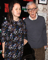 NEW YORK, NY- FEBRUARY 28: Soon-Yi Previn and Woody Allen arrive for the opening of The Revisionist, held at the Cherry Lane Theatre, on February 28, 2013, in New York City. Credit: Joseph Marzullo/MediaPunch