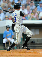 June 24, 2008: Outfielder Peter Bourjos of the Rancho Cucamonga Quakes at the California-Carolina All-Star Game between members of the California League and the Carolina League at BB&T Coastal Field in Myrtle Beach, S.C. Photo: Tom Priddy / Four Seam Images