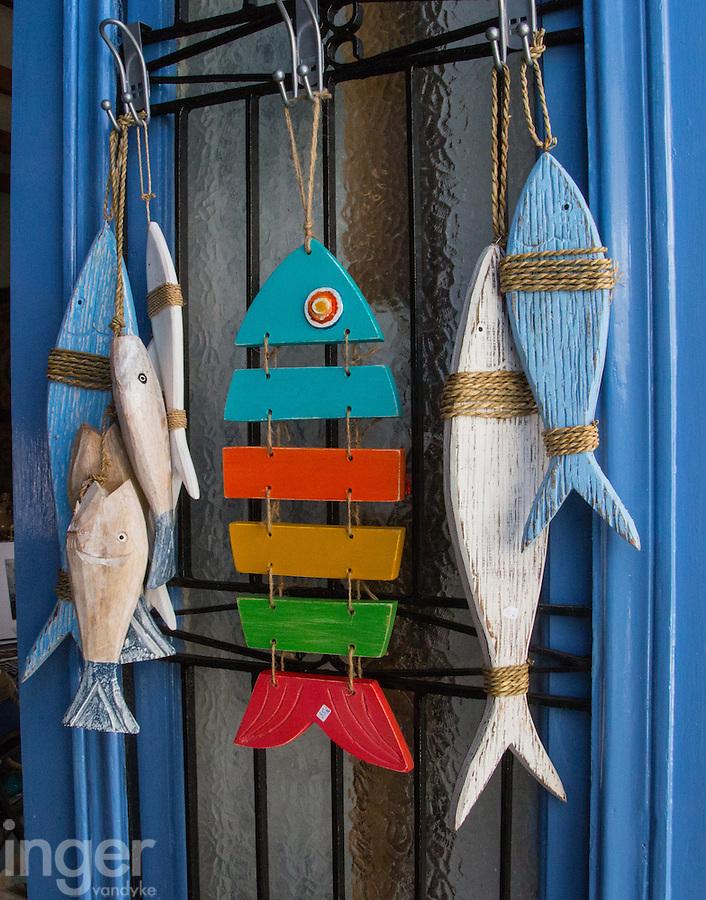 Fish Souvenirs on Kastellorizo, Greece