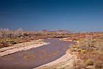 Environment arount the Puerco River in Petrified Forest National Park, AZ, USA