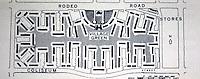 Clarence S. Stein: Baldwin Hills Village, Plan. 1940-41. Photo '78.
