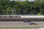 #4: Raphael Lessard, Kyle Busch Motorsports, Toyota Tundra SiriusXM, #38: Todd Gilliland, Front Row Motorsports, Ford F-150 Speedco