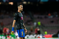 14th September 2021: Nou Camp, Barcelona, Spain: ECL Champions League football, FC Barcelona versus Bayern Munich: Sergio Busquets during the warm up