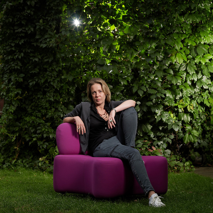© John Angerson..Kim Shillinglaw head of BBC Knowledge commissioning, photographed in the Blue Peter Garden.