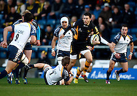 Photo: Richard Lane/Richard Lane Photography. London Wasps v Worcester Warriors. LV= Cup. 18/11/2012. Wasps' Tommy Bell attacks.
