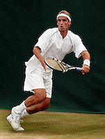 24-06-2004, London, tennis, Wimbledon,Lopez