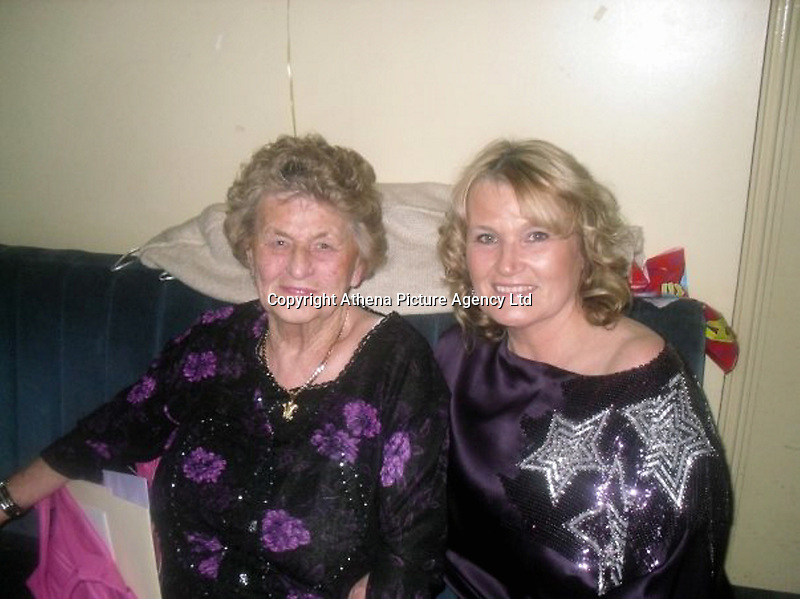 "Pictured: Patricia Connors (R)<br /> Re: The husband, son and nephew of a woman killed after chasing her dog onto the M4 could be temporarily released from jail on compassionate grounds.<br /> Patricia Connors, 66, from Cardiff, died after being hit by a Ford Transit van while trying to catch her dog which had escaped from her car at rush hour on Friday.<br /> The great-grandmother's husband, son and nephew are currently unable to attend her funeral as they are serving time in jail.<br /> Her husband Patrick Joseph Connors, 60, was jailed for 14 years in May last year after a court heard he used two vulnerable men like ""slaves"".<br /> A family spokesman said she had been separated from Patrick for three years and had no involvement in the court case.<br /> Son Patrick Dean Connors, 40, and nephew William Connors, 37, were also jailed after the men were made to sleep in sheds and caravans without heating or running water."