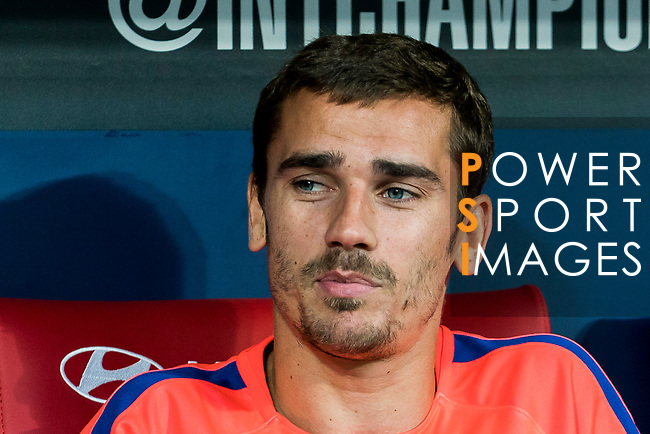 Antoine Griezmann of Atletico de Madrid is seen during their International Champions Cup Europe 2018 match between Atletico de Madrid and FC Internazionale at Wanda Metropolitano on 11 August 2018, in Madrid, Spain. Photo by Diego Souto / Power Sport Images