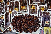 Tunisia, Sidi Bou Said.  Deglet Nour Dates for Sale.