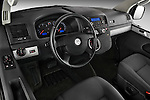 High angle dashboard view of a 2010 Volkswagen Multivan Shuttle Comfortline Minivan