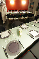 L'interno del ristorante Lineadombra a Venezia.<br /> Interior of the restaurant Lineadombra in Venice.<br /> UPDATE IMAGES PRESS/Riccardo De Luca