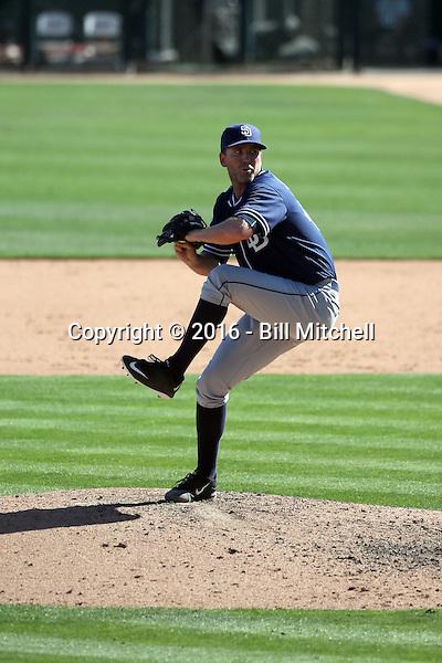 Casey Janssen - San Diego Padres 2016 spring training (Bill Mitchell)