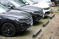 DFB Fuhrpark jetzt von Volkswagen - 15.03.2019: Pressekonferenz der Deutschen Nationalmannschaft, DFB Zentrale Frankfurt