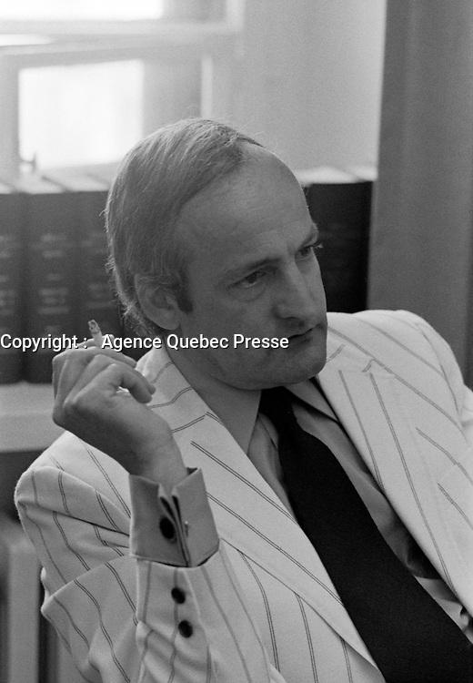 Gabriel Loubier<br /> ,  10 juin 1971<br /> <br /> Photographe : Photo Moderne