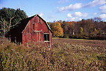 Barn in northern new Jersey where much development eliminated much of these iconic images