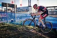 race leader Michael Vanthourenhout (BEL/Pauwels Sauzen-Bingoal)<br /> <br /> 2020 Urban Cross Kortrijk (BEL)<br /> men's race<br /> <br /> ©kramon