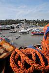 Lyme Regis Harbour, Dorset, UK