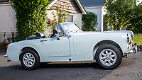 BNPS.co.uk (01202 558833)<br /> Pic: MaxWillcock/BNPS<br /> <br /> A dad who bought a run down sports car the year his first child was born has finished restoring it 27 years later - just in time for his son's wedding.<br /> <br /> David Townend, 60, bought the 1974 MG Midget in 1994 for almost £300.<br /> <br /> He kept the rusty motor in his garage with the intention of returning it to its former glory.<br /> <br /> But 'life got in the way' and the restoration project was put on the back burner.