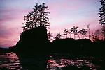 Sunset at Haida Gwaii/Queen Charlotte Islands, British Columbia, Canada