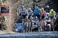 breakaway group up the Kruisberg<br /> <br /> 73rd Kuurne - Brussels - Kuurne 2021<br /> ME (1.Pro)<br /> 1 day race from Kuurne to Kuurne (BEL/197km)<br /> <br /> ©kramon