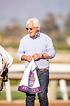 September 26, 2020:  Bob Baffert after winning the Awesome Again Stakes at Santa Anita Park, in Arcadia, California on September 26, 2020.  Evers/Eclipse Sportswire/CSM