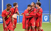 2020.09.08 U19 Belgium - Germany