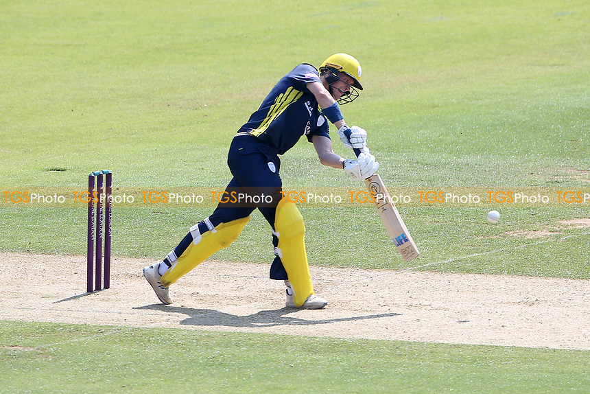 Nick Gubbins in batting action for Hampshire during Hampshire Hawks vs Essex Eagles, Royal London One-Day Cup Cricket at The Ageas Bowl on 22nd July 2021