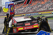 Monster Energy NASCAR Cup Series<br /> Bank of America 500<br /> Charlotte Motor Speedway, Concord, NC USA<br /> Sunday 8 October 2017<br /> Erik Jones, Furniture Row Racing, 5-hour ENERGY Extra Strength Toyota Camry<br /> World Copyright: Nigel Kinrade<br /> LAT Images