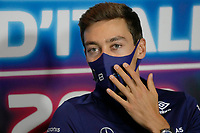 9th September 2021; Nationale di Monza, Monza, Italy; FIA Formula 1 Grand Prix of Italy, Driver arrival and inspection day:  George Russell GBR, Williams Racing