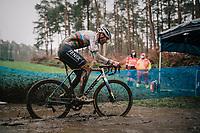 CX world champion Mathieu Van der Poel (NED/Alpecin-Fenix)<br /> <br /> X2O Herentals Cross 2020 (BEL)<br /> <br /> ©kramon