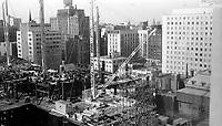 Construction de la Place Ville-Marie, 1960