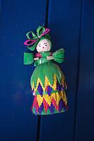 Corn Husk Doll at The Hacienda San Lucas, Ruinas Copan, Honduras