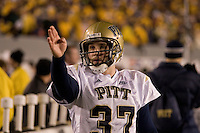 01 December 2007: kicker Conor Lee..The Pitt Panthers upset the West Virginia Mountaineers 13-9 on December 01, 2007 in the 100th edition of the Backyard Brawl at Mountaineer Field, Morgantown, West Virginia.